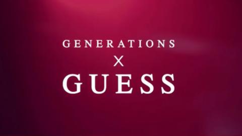 [新闻]180205 GUESSXGenerations  广告发布
