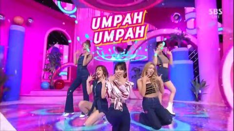 [新闻]190825 今天是牛仔造型的酷贝贝!RV人气歌谣带来《Umpah Umpah》回归舞台!