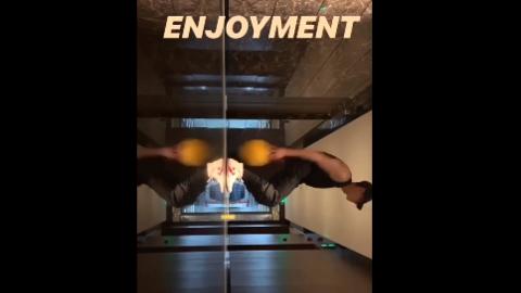 [新闻]191204 铁哥深夜分享运动视频 这是要熬夜还是要运动的节奏?