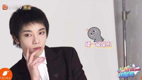 [新闻]200220 华晨宇《歌手·当打之年》海报拍摄花絮 小奶音自夸被拍成2米超可爱!