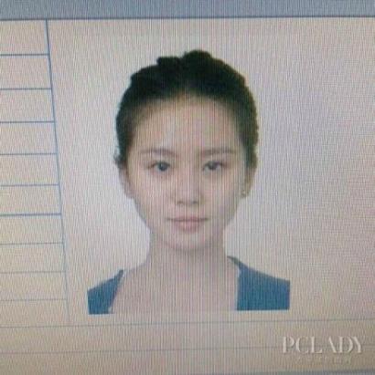 刘诗诗证件照被爆