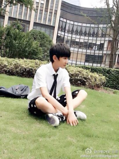 王源学校生活照