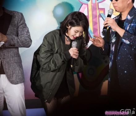 2015IU无限挑战歌谣祭 高清图片大全 爱豆APP