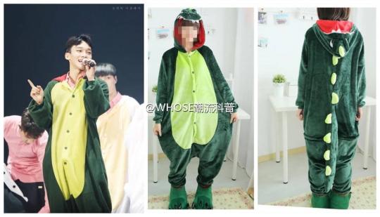 [exo][分享]160327 首尔安可演唱会动物服饰科普