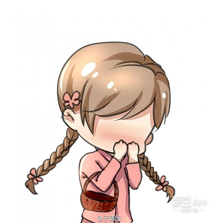 [李易峰][分享]160502 李易峰卡通角色表情(二) 害羞捂脸图片