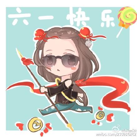"""[新闻]160601 赵丽颖送六一祝福 认证""""楚乔""""是""""哪吒"""""""
