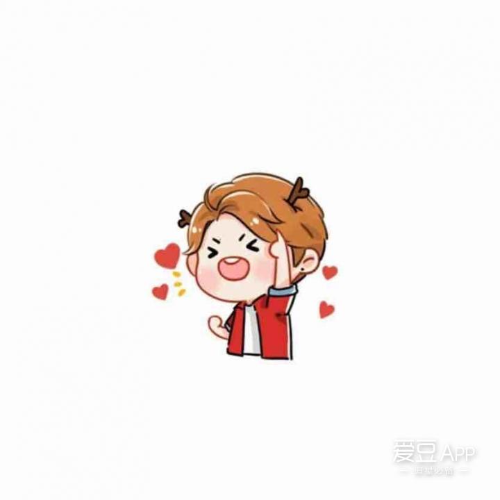 [鹿晗][分享]160708 鹿晗微信卡通表情包可爱上线