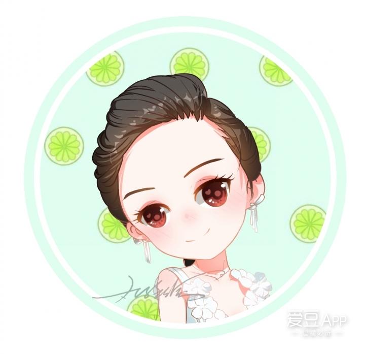 杨颖手绘动漫人物