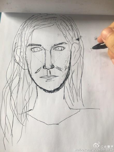 简笔画 手绘 素描 线稿 440_587 竖版 竖屏