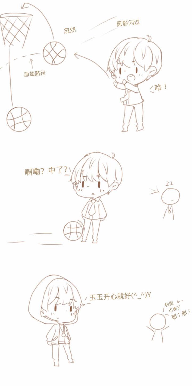 王源手绘卡通头像