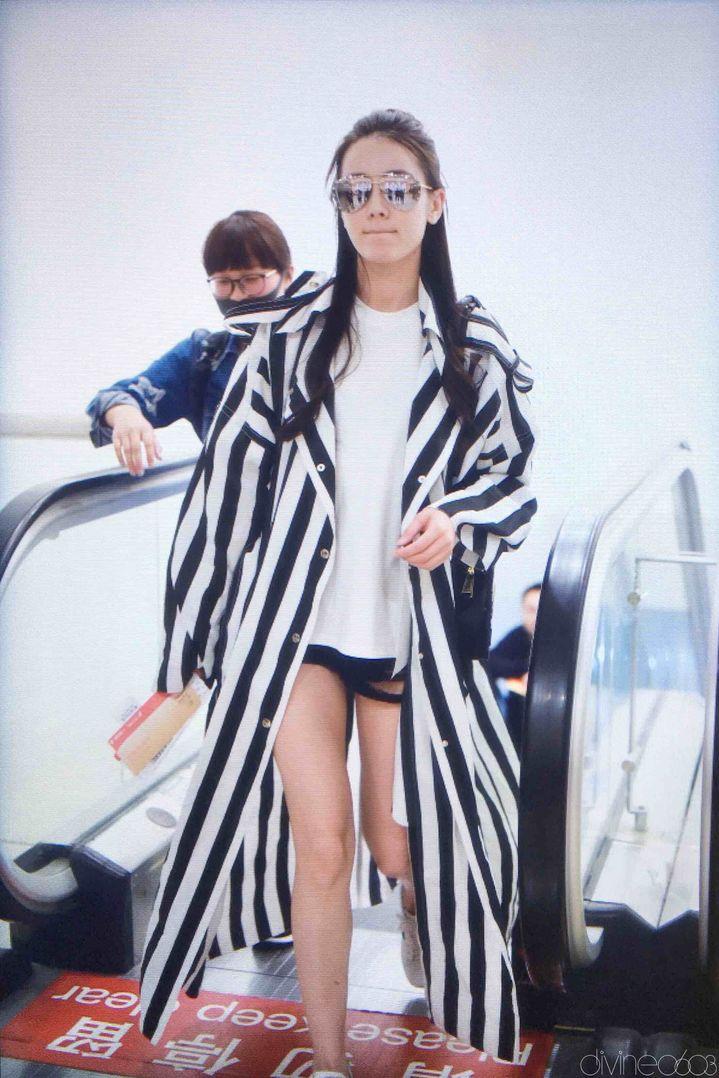 [迪丽热巴][新闻]170414 首都机场再起飞 可盐可甜唯