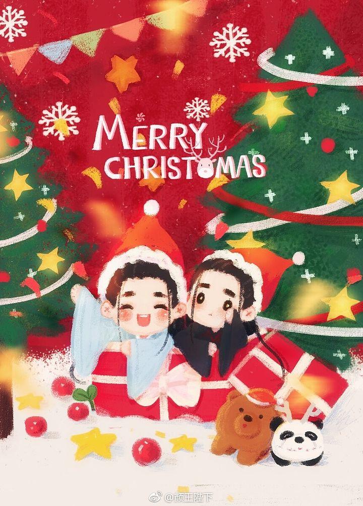 [李易峰][分享]171225 圣诞节快乐!小凡鬼厉来送祝福