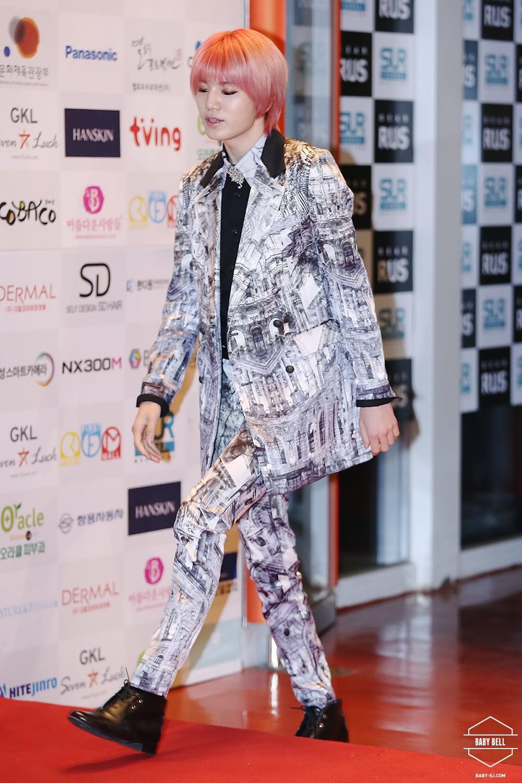 2014infinite第9届亚洲模特奖颁奖典礼
