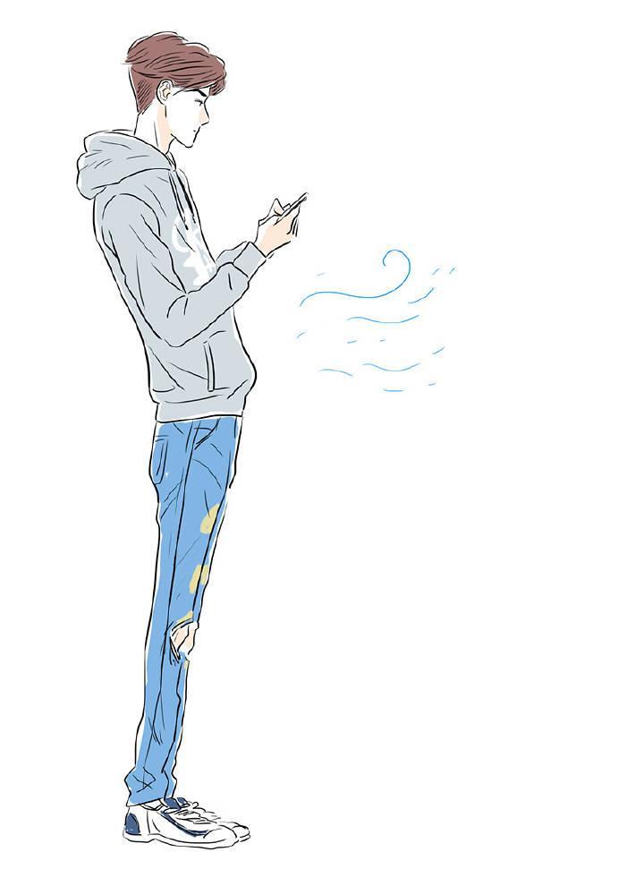 手绘exo的卡通图片