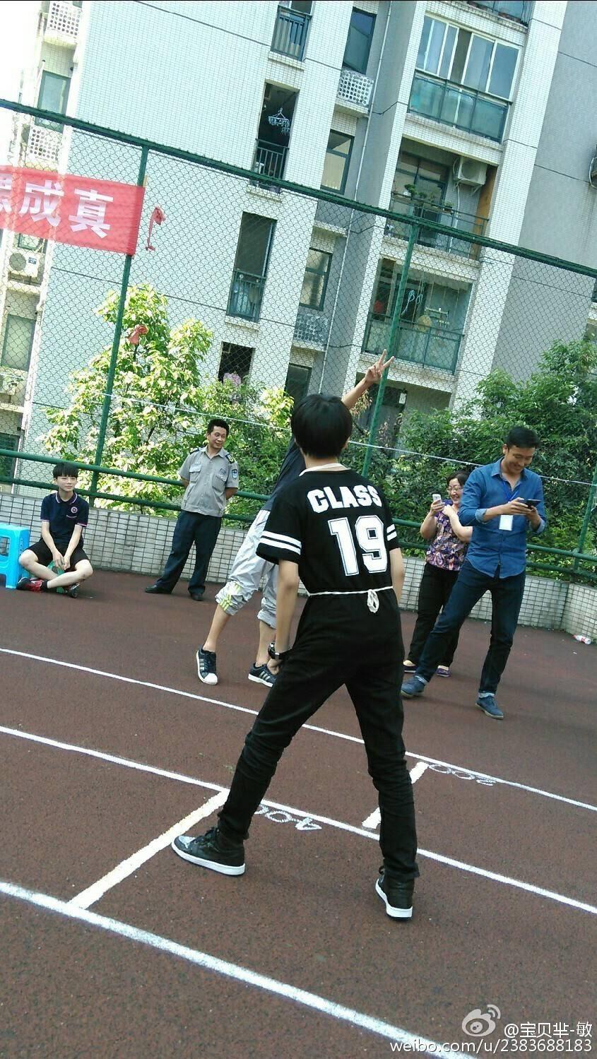 王俊凯学校跑步犯低血糖