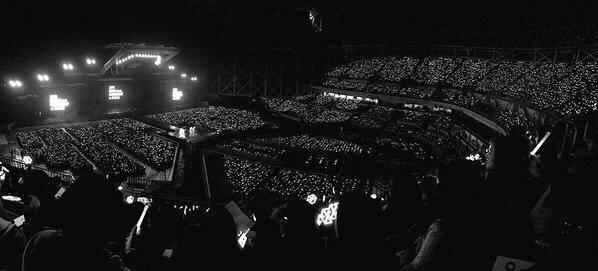 151010 EXO韩国巨蛋演唱会银海应援达成