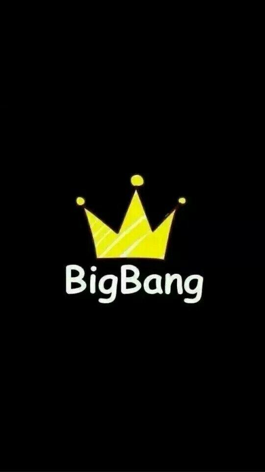 bigbang皇冠标志 手绘