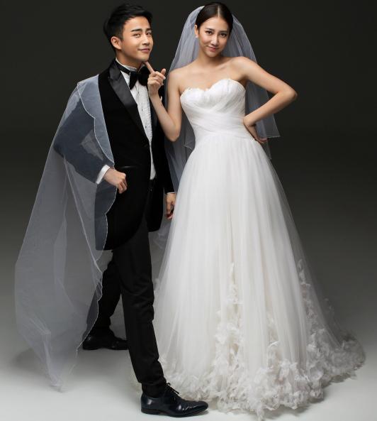 [消息]李茂弦子大婚在即 唯美浪漫婚纱照曝光