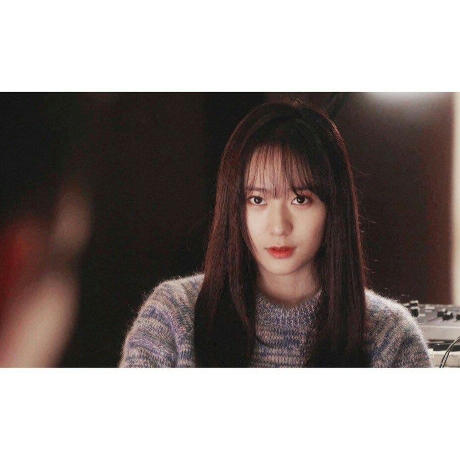 对我而言可爱的她里 晶宝的空气刘海真的是无限美腻