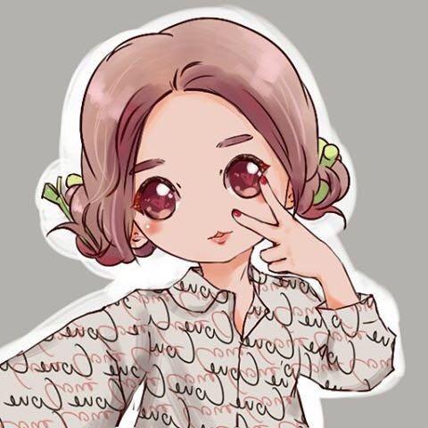 推特网友分享了毛毛的手绘图片,q版毛毛萌萌哒~神还原毛毛可爱的双