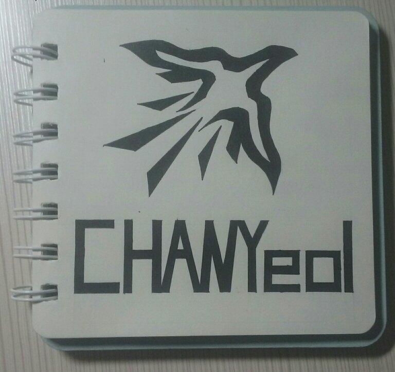 [消息]手绘exo灿白logo