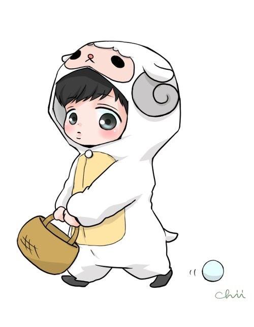 exo动物q版萌图