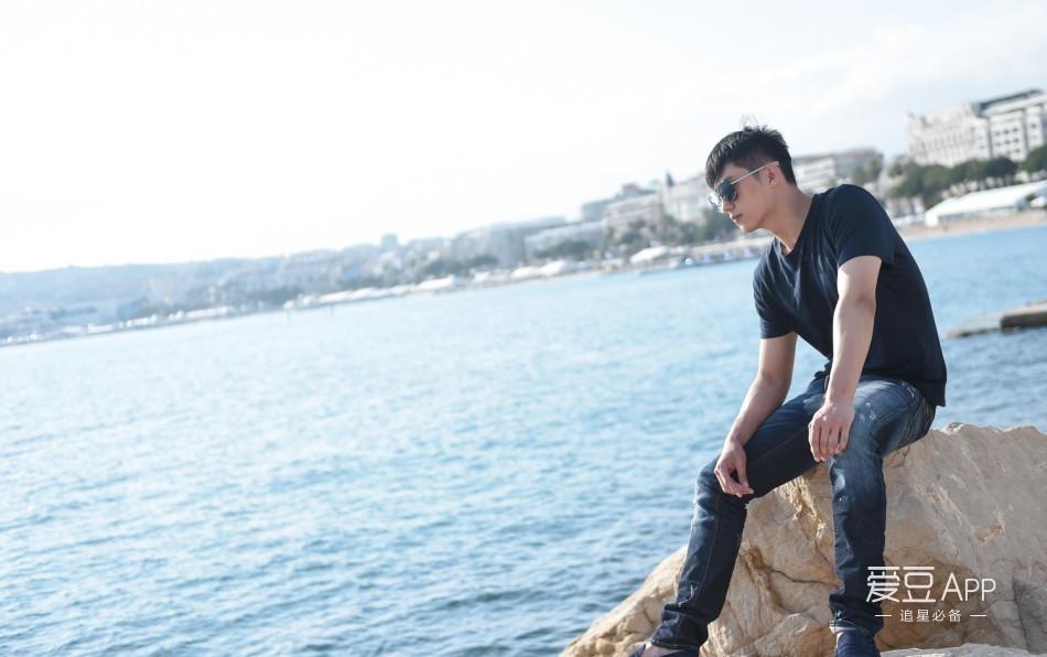 男孩头像海边风景