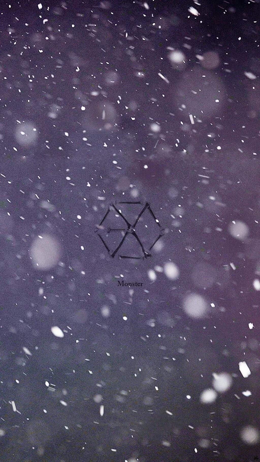 exo-l推出新版logo壁纸系列