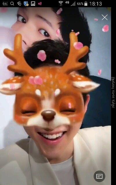 [消息]欧巴和麋鹿的表情太可爱了也太逗了图片