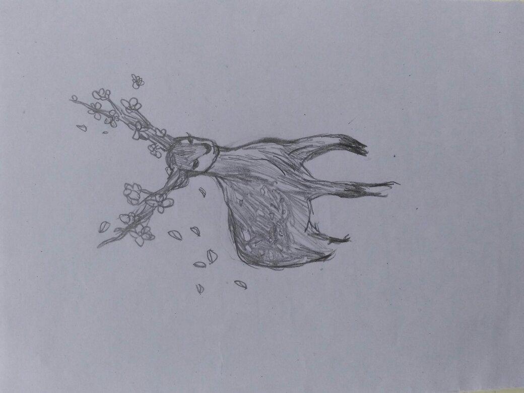 鹿晗素描画步骤图教程