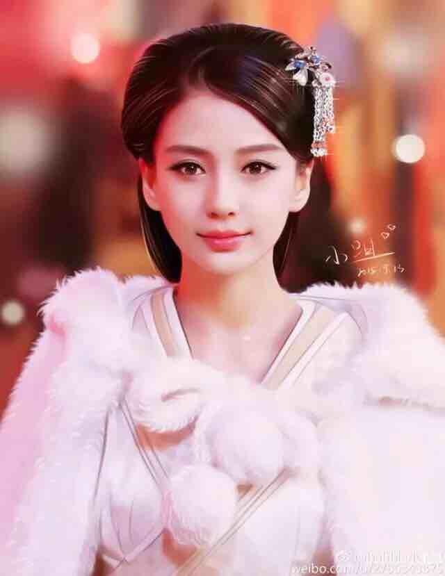 baby手绘,好美好美 - angelababy 杨颖 - zeze!啧啧