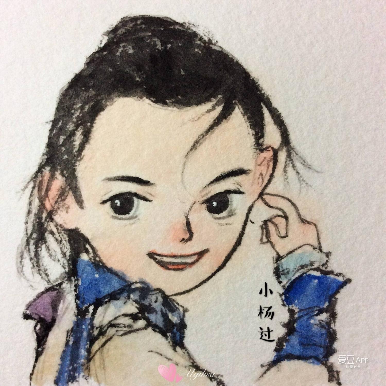吴磊最可爱铅笔画