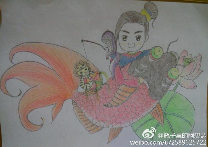 绿色地球画画图片大全,保护地球儿童画宣传画,保护地球儿童画创想画