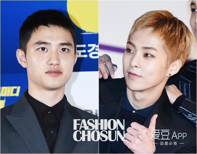 [exo][分享]170124 d.o.&xiumin时髦短发引发韩媒关注