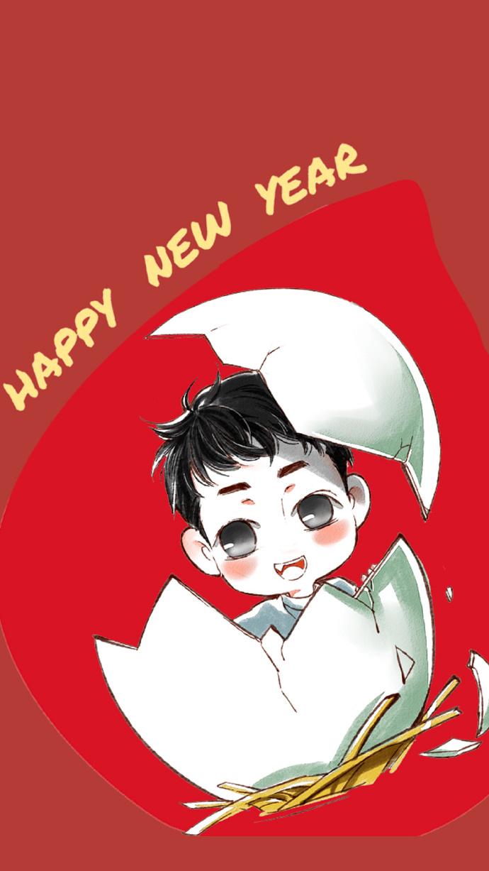 刘昊然新年壁纸来