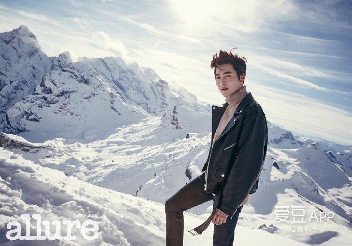 "[exo][新闻]170217 suho魅力画报公开 ""想和成员们一起来瑞士滑雪"""