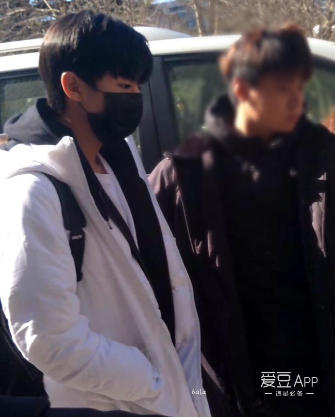 [tfboys][新闻]170223 王俊凯今日参加北电艺考三试