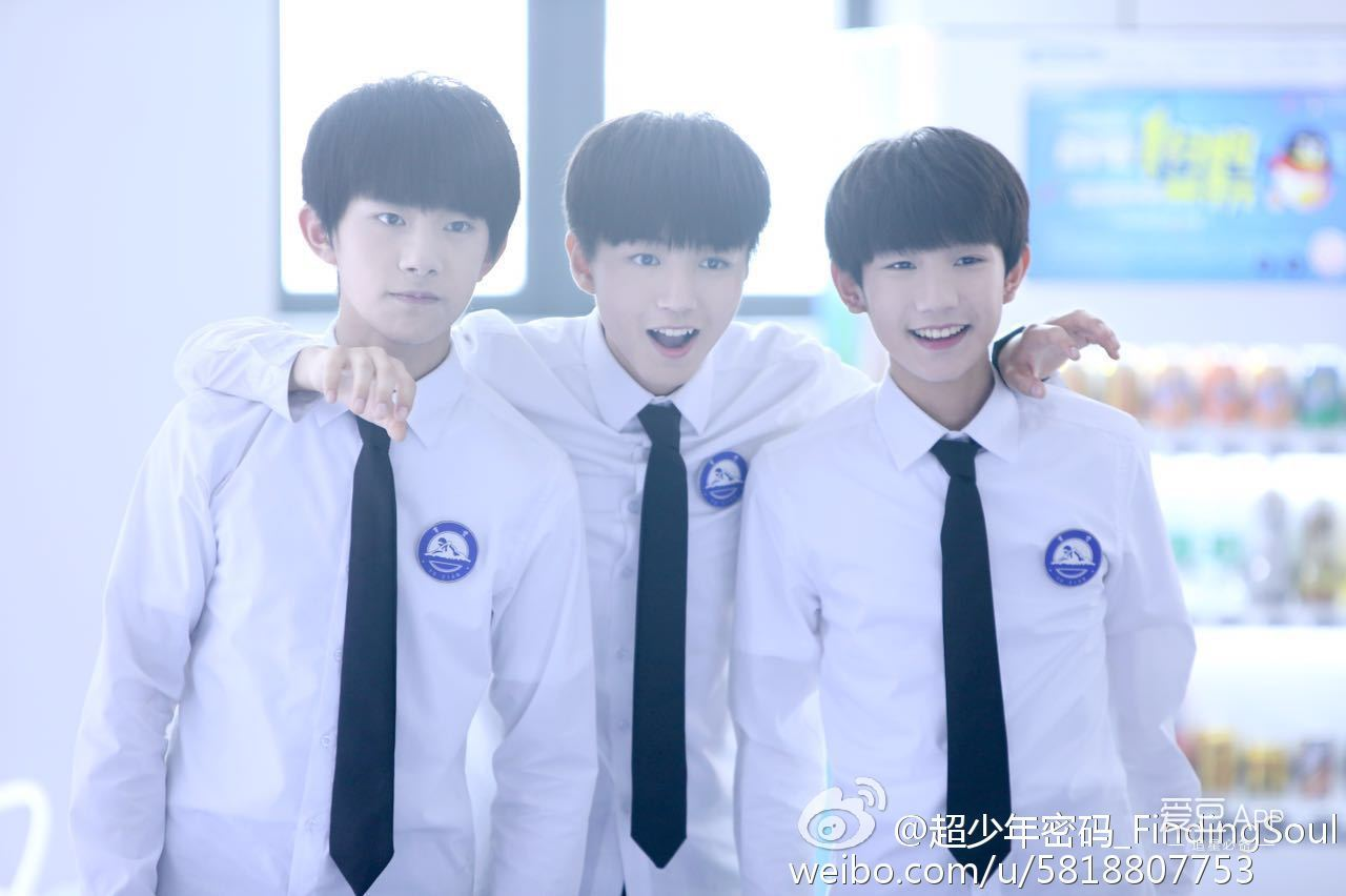[tfboys][分享]170326 王俊凯:希望是三个人一块一起走下去!