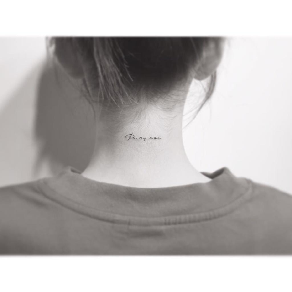 每一个印记都有意义 sense王金泰妍又见新纹身