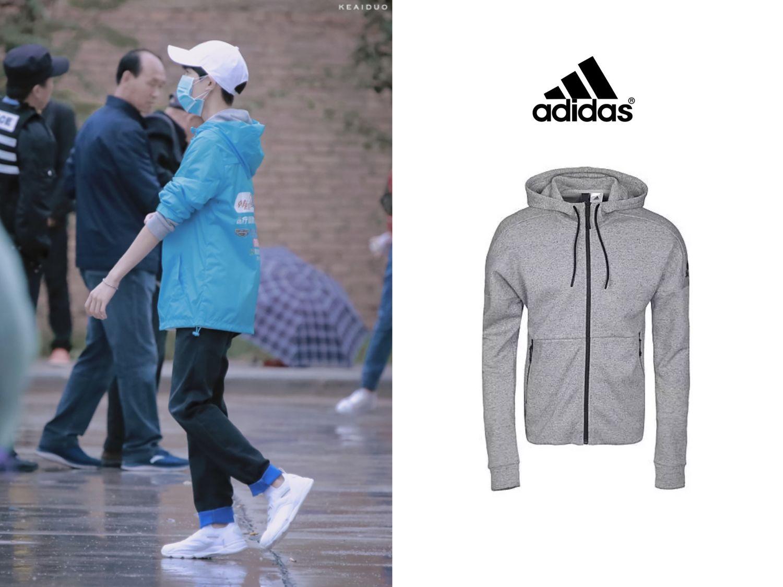 [TFBOYS][分享]170823 王源时尚科普 灰色外套尽显完美比例