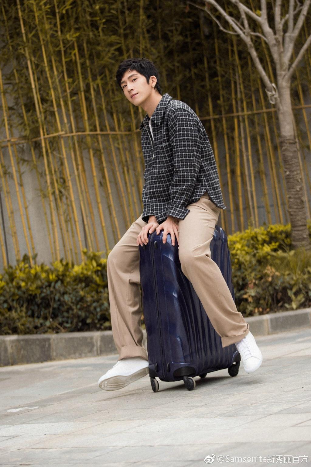 行李之往来的行李_井柏然代言旅行箱_井柏然代言的行李箱