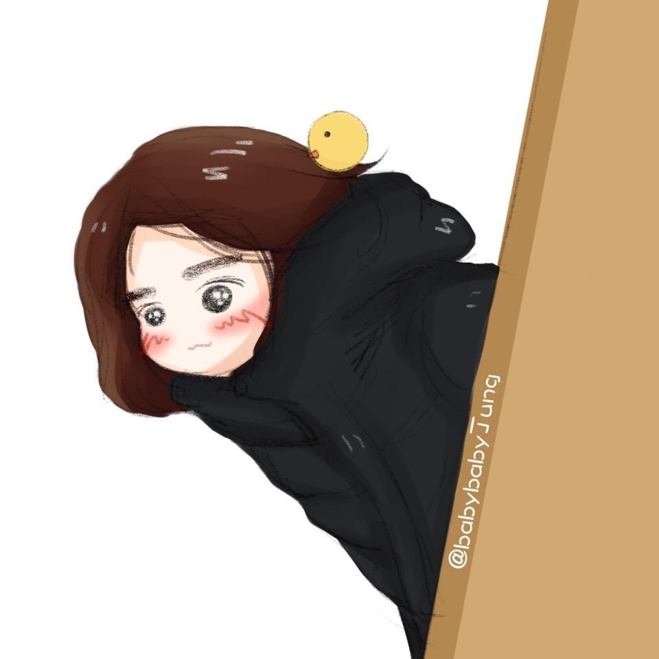 [郑秀晶][分享]171211 超甜小可爱!秀晶最新饭绘上线啦!
