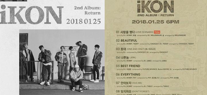iKON新专歌单公开 PSY·Tablo支援出击