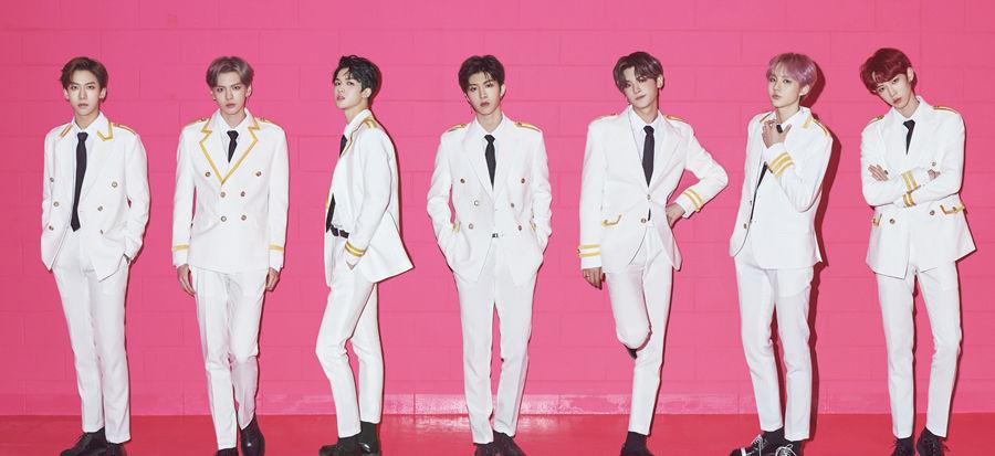 乐坛新势力 乐华七子NEXT首张音乐专辑今日发布