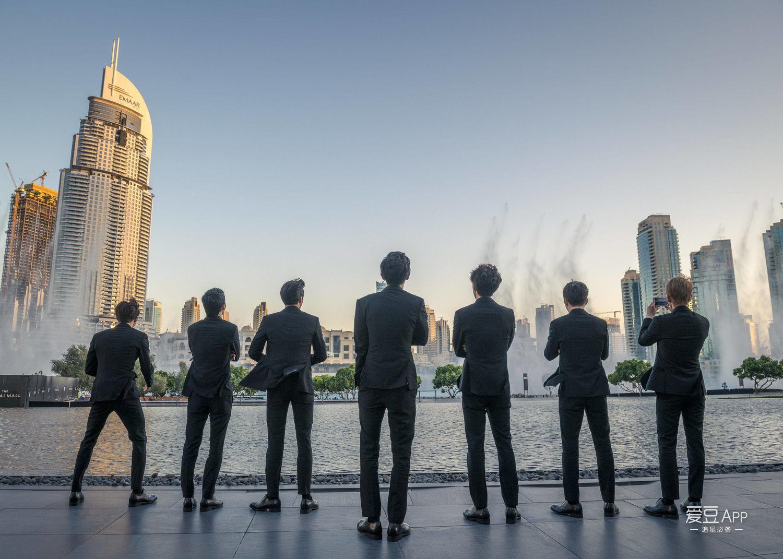 [EXO][新聞]180709 閃耀世界最高建築 恭喜小天喜登哈利法塔
