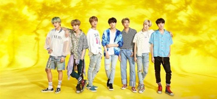 防弹少年团成为首位日本单曲专辑销量破100万张的海外歌手!