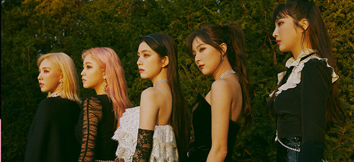 ]Red Velvet摘得Idol Chart一位!2位IU&3位防弹少年团