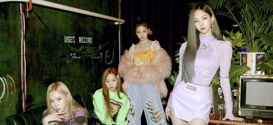 aespa进入美国Billboard全球排行榜,创下K-POP艺人出道曲最高排名