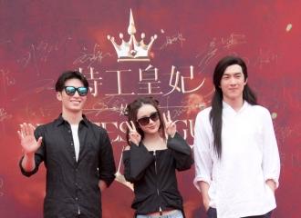 [新闻]160530 《楚乔传》开机 赵丽颖林更新发型抢眼图片