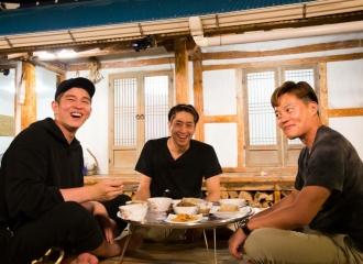 [新闻]160930 天性阳光灿烂的得粮岛三餐家庭成员们:菜单不告诉你